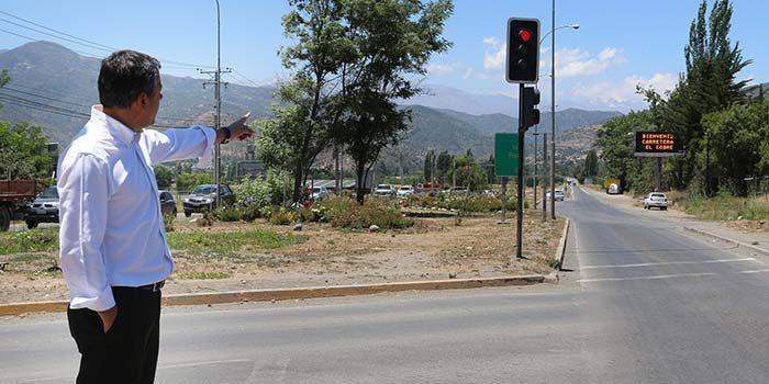 Intendente ingresa a Core proyecto para iniciar construcción de doble vía Carretera El Cobre