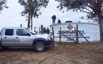 MOP O'Higgins monitorea problemas generados por sequía en sistemas APR