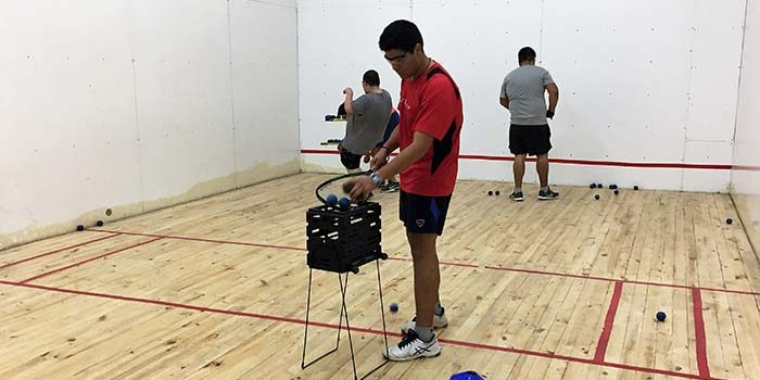 Nuevo taller gratuito de ráquetbol para la comunidad