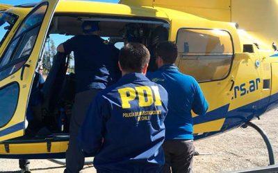 PDI efectúa primer control migratorio a aeronave Argentina en Rancagua