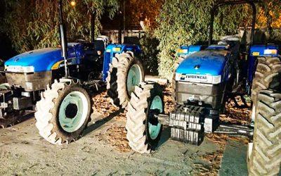 PDI recupera dos tractores en mostazal avaluados en 30 millones de pesos