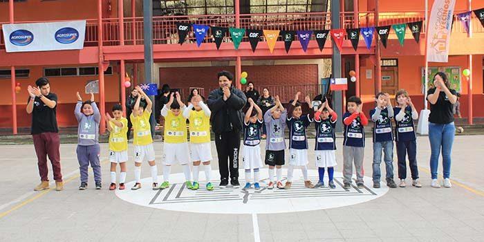 Programa Escuelas de Fundación Fútbol Más busca prevenir el Bullying a través del deporte