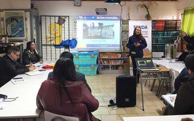 Realizan charlas preventivas a asistentes de la educación de la comuna de Pichilemu