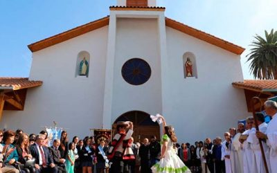 Reinaugurada histórica iglesia de Isla de Yaquil en Santa Cruz
