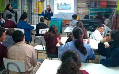 Senda previene Pichilemu junto a la PDI dictan charla a colegio Los Libertadores
