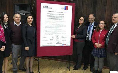 Seremi de Educación lanza en San Fernando Compromiso Bicentenario 2019