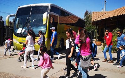 Valle de Colchagua recibe familias de la región gracias al Programa Turismo Familiar del Sernatur