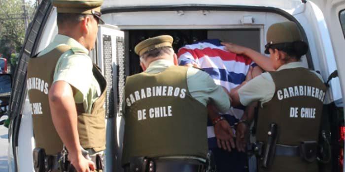 Carabineros frustró huida de sujeto que robó en el sector céntrico de Rancagua