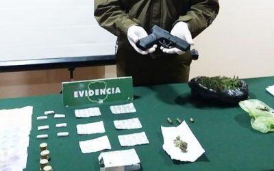Carabineros logró la detención de dos sujetos por microtráfico