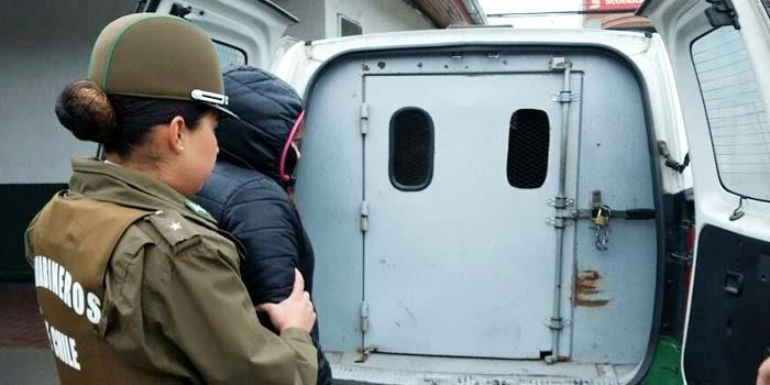 Carabineros detenido