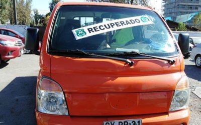 Carabineros recuperó vehículo robado en la comuna de Quinta Normal