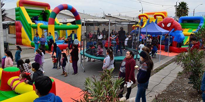 Coltauco da la bienvenida al programa Quiero mi barrio con fiesta ciudadana