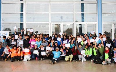 Comunidad Universitaria de Campus Colchagua celebra e instaura un hito para futuras generaciones