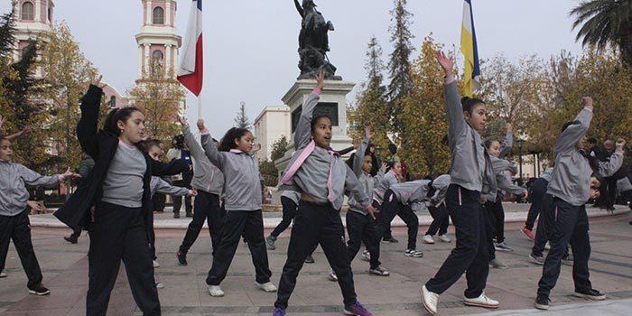 Con intervención urbana de danza finaliza la Semana de la Educación Artística