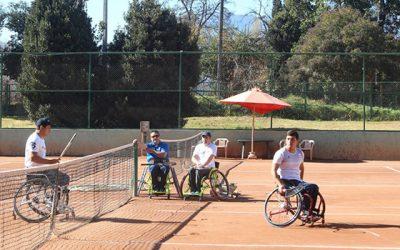 Con la presencia de reconocidos tenistas se dio inicio a los talleres inclusivos de Olivar