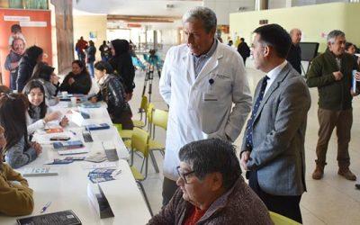 Corte de Apelaciones y tribunales de Rancagua participaron en Cuarta Plaza Ciudadana en hospital regional