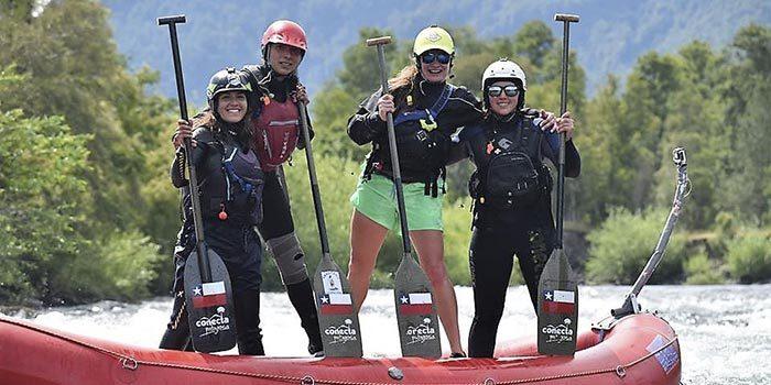 Dos jóvenes deportistas representarán a la región en el mundial de rafting