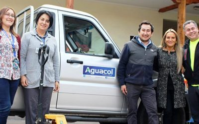 Empresa dona transpaleta para Unidad de Bodega del Hospital de San Fernando