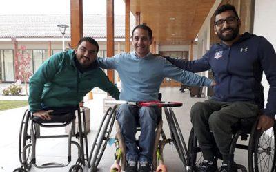 En Olivar se desarrollan talleres de tenis y boccias para personas con discapacidad