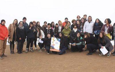 En Punta de Lobos se realizó el hito de la Semana de la Educación Artística