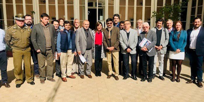 Exitosa Mesa Provincial Seguridad Pública Cachapoal