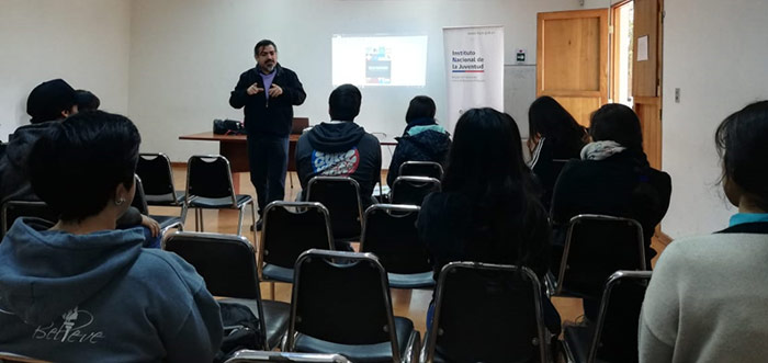 Jóvenes voluntarios fueron capacitados como mediadores patrimoniales