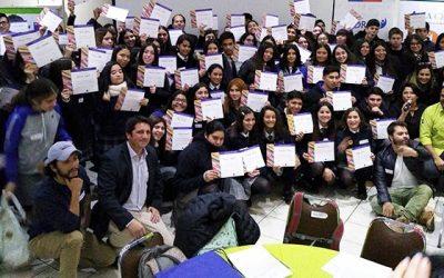 Más de 100 estudiantes participan en el lanzamiento del programa apoyado por la Corfo Yo emprendo en Cachapoal
