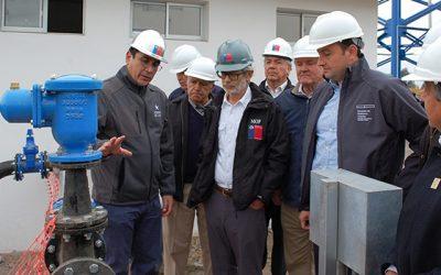 Ministro de Obras Públicas inspecciona avance de obras de alto impacto social en su visita a la Región