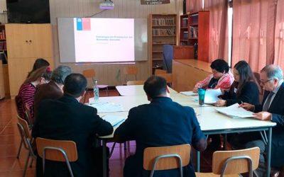 Senda Previene Pichilemu capacita a profesionales de la educación en Bienestar Docente