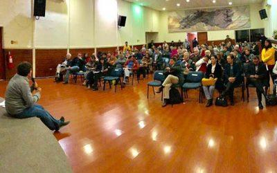 Adultos mayores asisten al primer encuentro oportunidades y beneficios