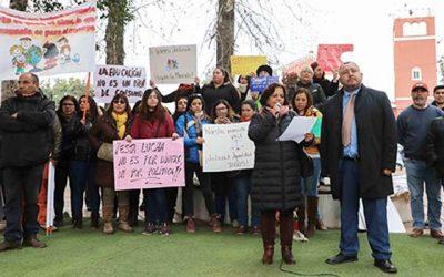 Alcalde de Graneros anuncia que la comuna seguirá con clases de Historia y Geografía y Educación Física