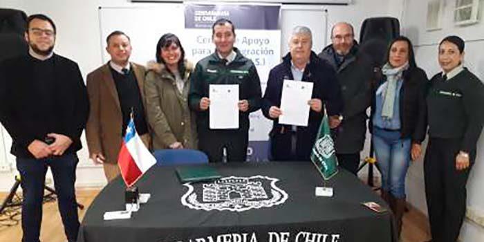 CAIS de Rengo firma importante convenio con empresa de reciclaje Altramuz
