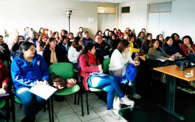 En San Fernando se realiza la primera activación de cuadernos pedagógicos en la Región