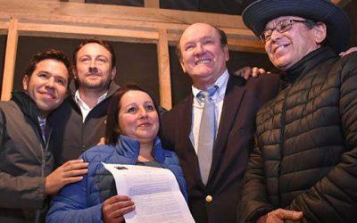 Familias del Campamento Los Manantiales podrán concretar proyecto habitacional