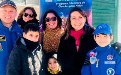 Gobernación de Cachapoal realiza lanzamiento eclipse seguro junto a escuela de astronautas de Mostazal