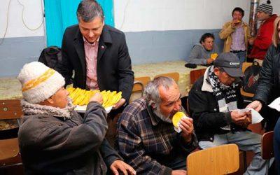 Gobierno da inicio al Plan de Invierno para personas en situación de calle en la región