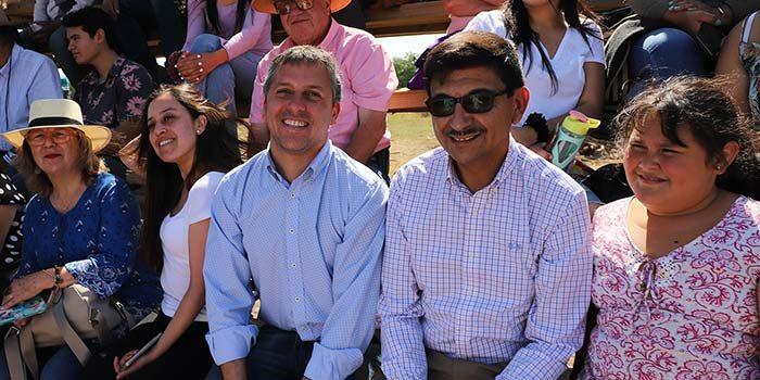 Gobierno regional anuncia construcción de gimnasio en sector El Manzano de Las Cabras