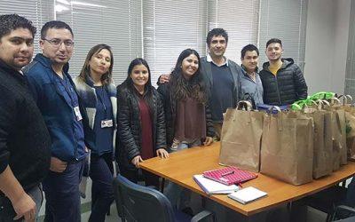 Hospital de Santa Cruz recibe significativa donación de parte de alumnos de la Universidad de Talca