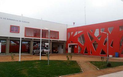 Inaugurado nuevo cuartel de bomberos de Cunaco