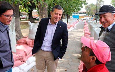 Intendente enviará al Core iniciativas que irán en directo beneficio de agricultores de la Región