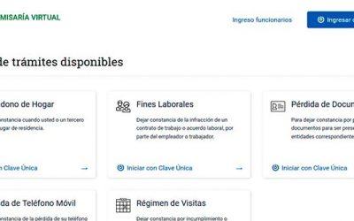 Intendente presenta comisaría virtual