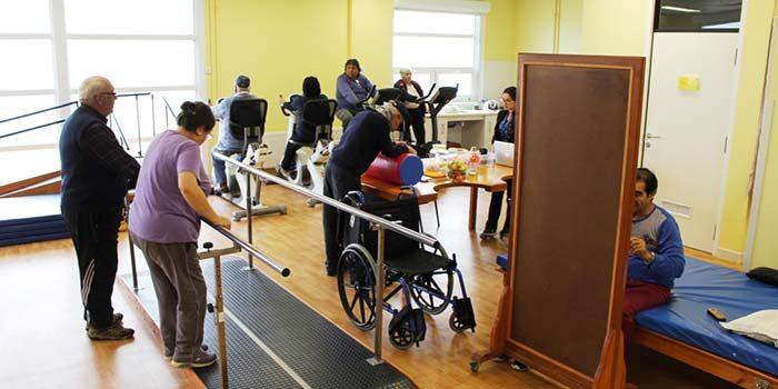 La sala de rehabilitación comunitaria a la vanguardia en tratamiento kinésico y de rehabilitación