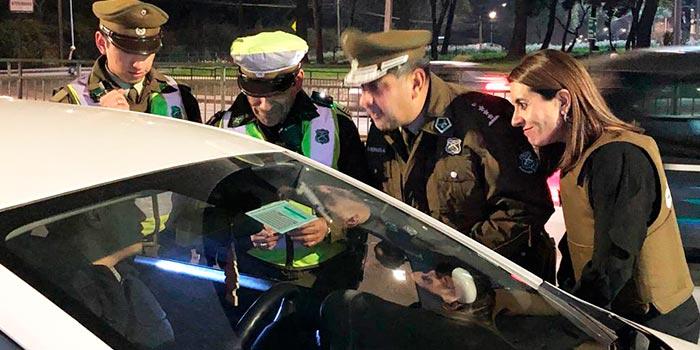 Más de 50 sujetos son detenidos durante ronda masiva de Carabineros