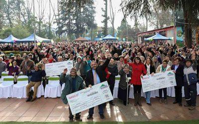 Más de mil adultos mayores recibieron bono de gas en Graneros