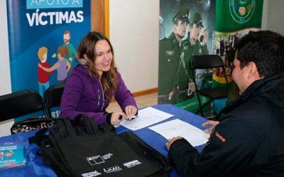 Nancagua recibió feria de Seguridad Pública