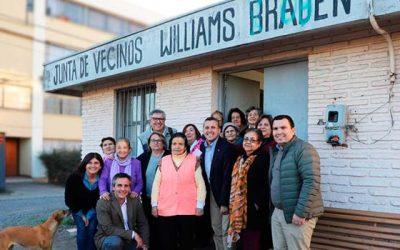Nueva sede social para la población William Braden de Rancagua