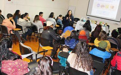 Pacientes pediátricos con diabetes de Hospital San Fernando participaron de charla informativa nutricional