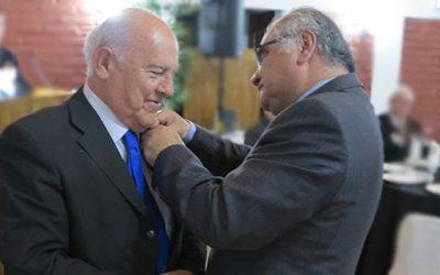 Patricio Leyton asume como nuevo presidente del Rotary Club Santa Cruz