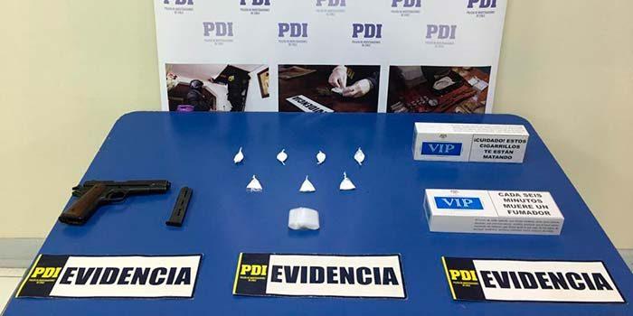 PDI detiene a dos hermanos por microtráfico de drogas