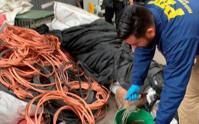 PDI Rancagua desbarata red informal de comercio de cobre